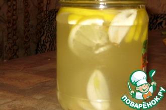 Рецепт: Лимонно-чесночный настой Антигрипп