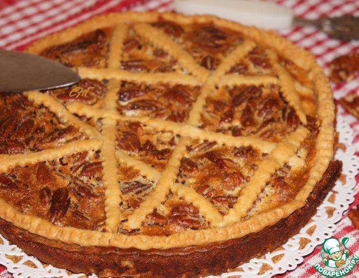 Рецепт: Пирог с пекановыми орехами