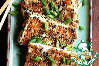 Рецепт: Сыр + Кунжут