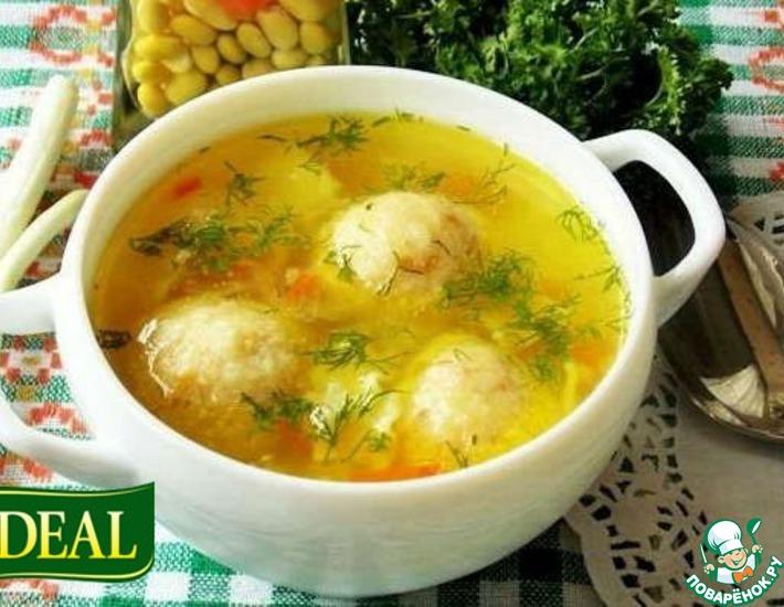 Рецепт: Фрикадельки + Сыр