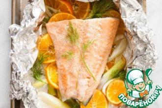 Рецепт: Cемга + Апельсин