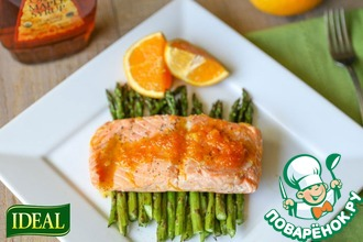 Рецепт: Рыба + Имбирь