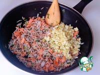 Жареный рис с кетой ингредиенты