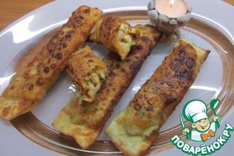 Рецепт: Спринг-роллы с начинкой из куриного филе