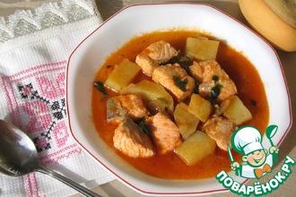 Рецепт: Мармитако из лосося