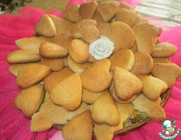 Рецепт: Печенье Бедное