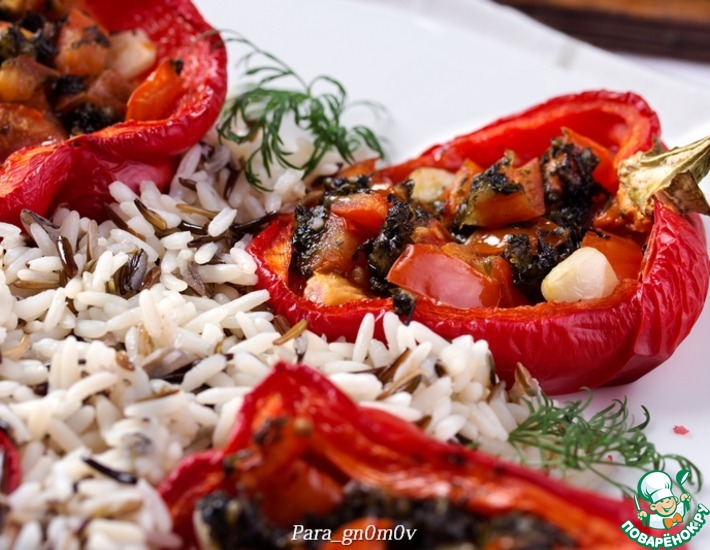 Рецепт: Перцы по-итальянски