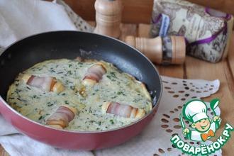 Рецепт: Омлет с рисом Испанский завтрак