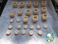 Печенье Кубики с кунжутом ингредиенты