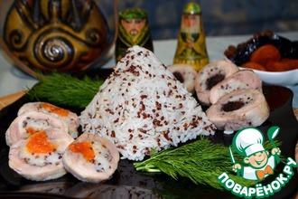 Рецепт: Рулетики с рисом Восточные гости