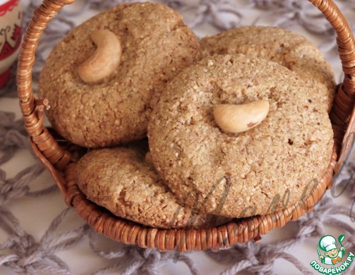 Рецепт: Печенье из киноа с тахиной