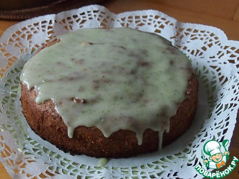 Ореховый пирог с лаймом и кокосом
