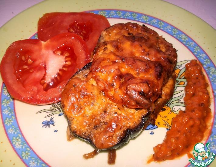 Рецепт: Телятина под сырной корочкой с горчицей