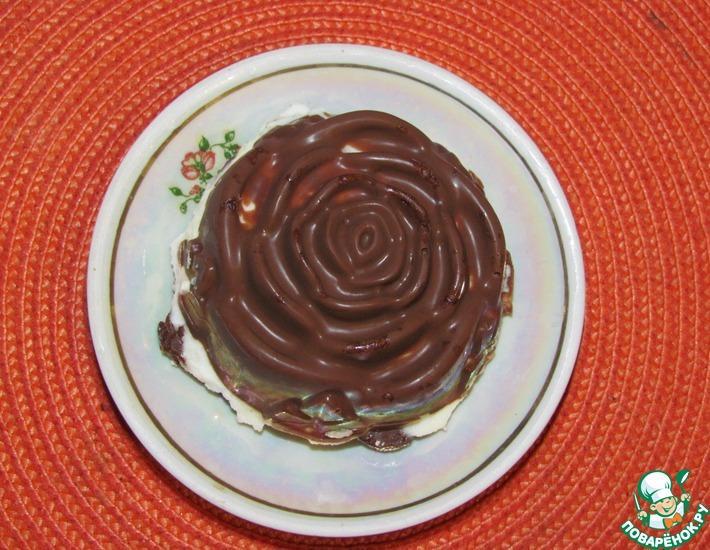Рецепт: Творожные сырки в шоколаде