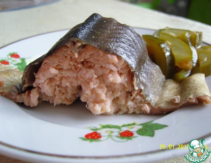 Рецепт: Рыба горячего копчения