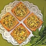 Ленивые пирожки со свежей зеленью