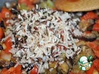 Средиземноморское овощное рагу с рисом ингредиенты