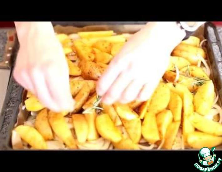 Рецепт: Запеченный картофель
