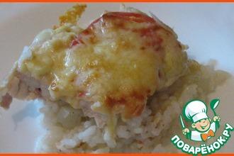 Рецепт: Куриная грудка под сыром