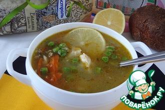 Рецепт: Пряный куриный суп