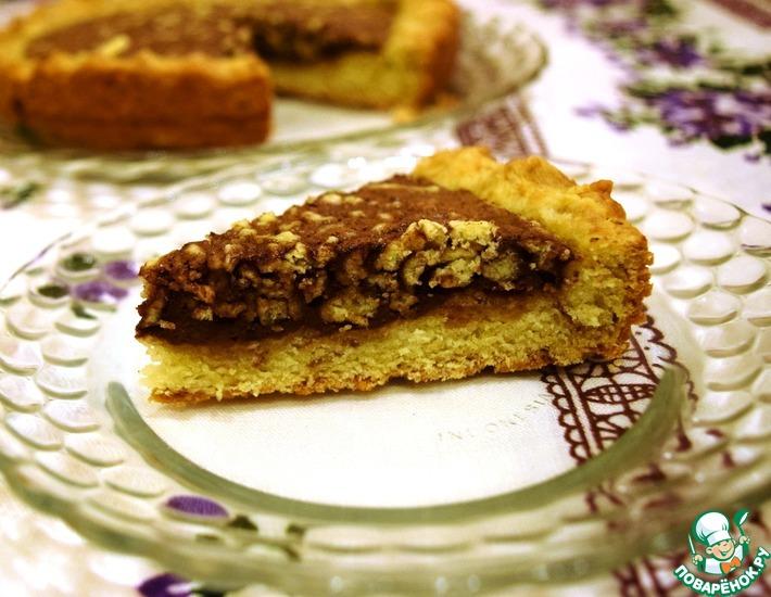 Рецепт: Пирог Молочный шоколад