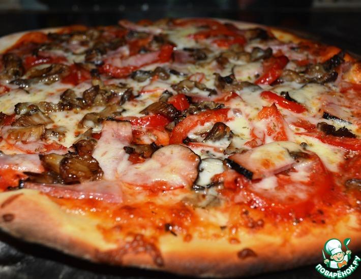 Рецепт: Пицца