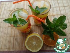 Рецепт Мятно-цитрусовый напиток