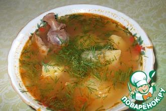 Рецепт: Суп с бараниной