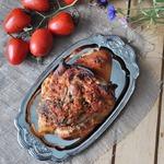 Свиная рулька в томатном маринаде