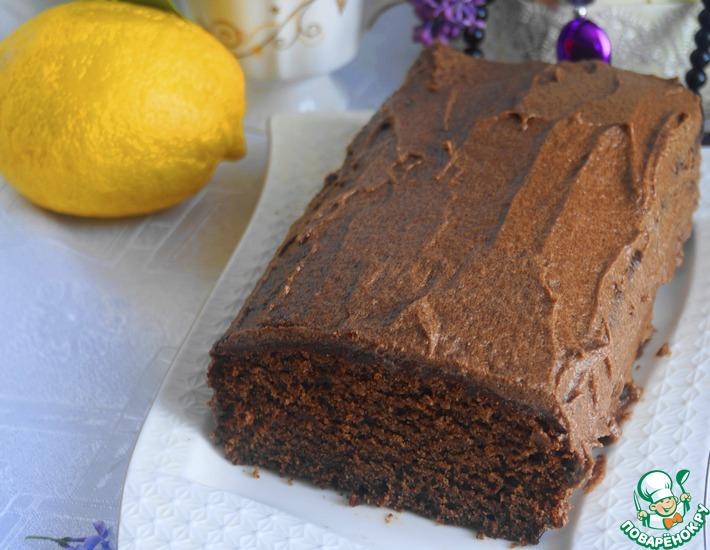 Рецепт: Шоколадный кекс Нежнее нежного