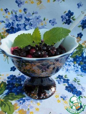 Рецепт Варенье из ирги на черномородиновом соке