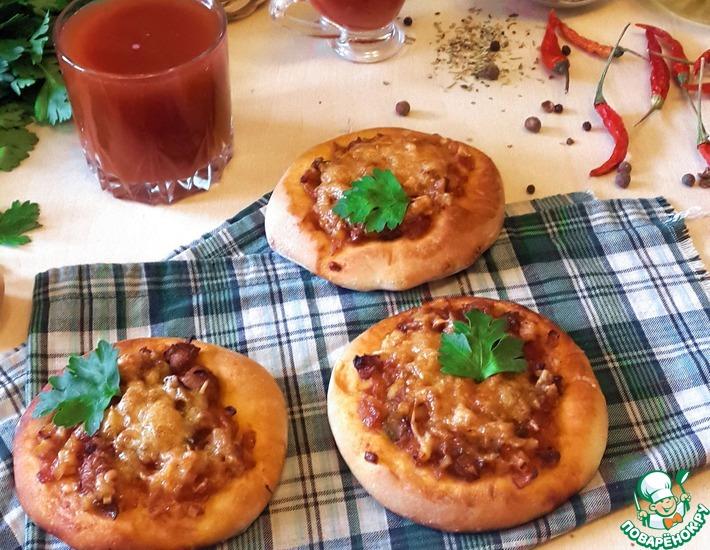 Рецепт: Смаженка с фаршем и томатным соком