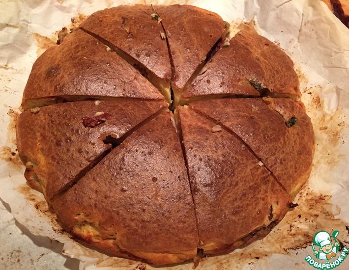 Рецепт: Пирог Паштида с тунцом и луком