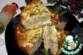 Рецепт: Кабачковый пирог-запеканка