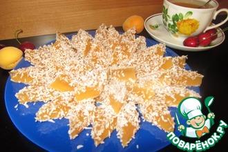 Рецепт: Яблочно-абрикосовый мармелад