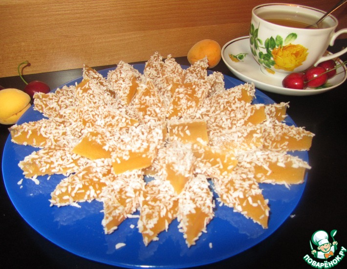 абрикосовый мармелад рецепт с фото