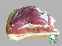 Грудинка свиная вяленая ингредиенты