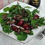 Салат с печенью кролика