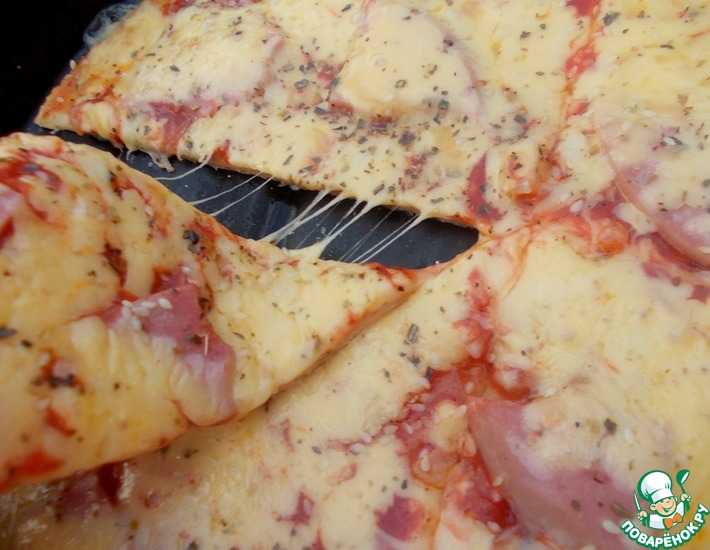 Рецепт: Пицца Любимая