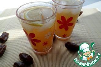 Рецепт: Имбирно-финиковый лимонад