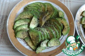 Рецепт: Завтрак из авокадо