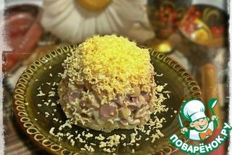Рецепт: Салат Слоеные шампиньоны