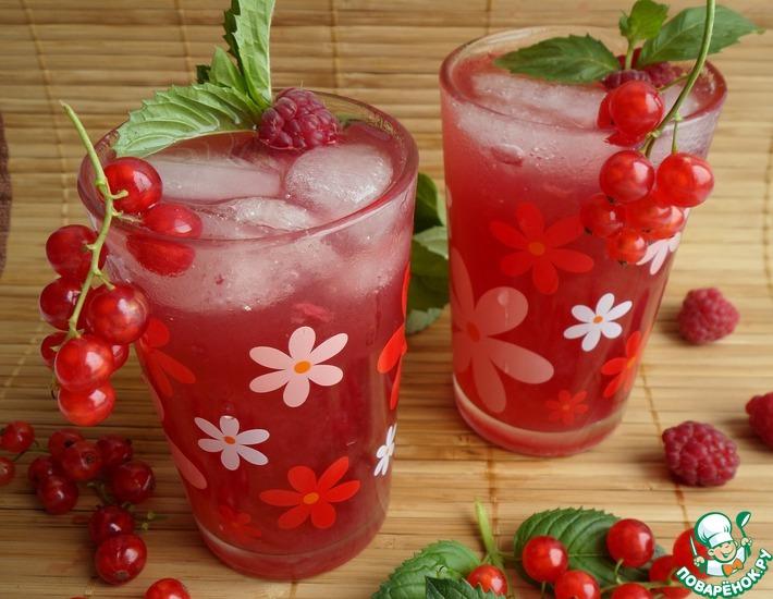 Рецепт: Яблочно-смородиновый малинад