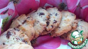 Рецепт Американское печенье с шоколадом