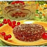 Мармелад из красной смородины