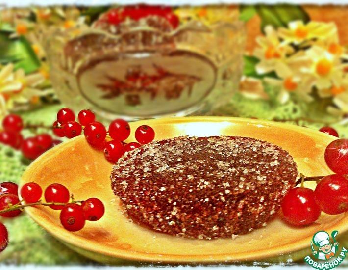 Рецепт: Мармелад из красной смородины