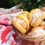 Французские булочки Гужеры с начинкой