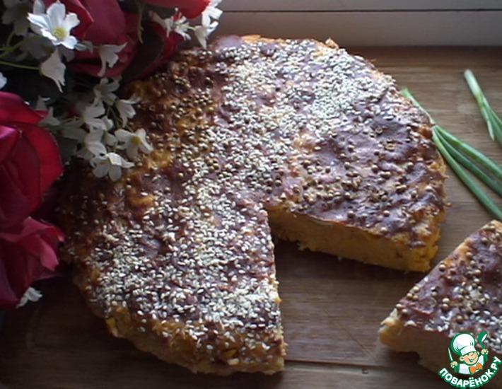Рецепт: Кабачковая запеканка с кукурузой