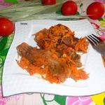 Крылышки тушеные в томатном соке
