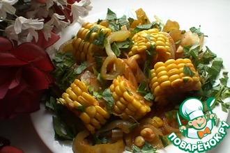 Рецепт: Кукурузные колечки
